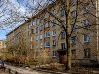 Василеостровский район, улица Шевченко, дом 38. многоквартирный дом