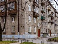 Василеостровский район, улица Вёсельная, дом 5. многоквартирный дом