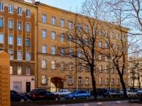 Василеостровский район, улица Вёсельная, дом 6. многофункциональное здание