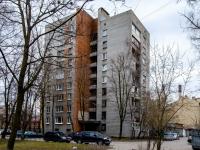 Василеостровский район, улица Вёсельная, дом 8. многоквартирный дом