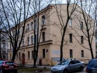 Василеостровский район, улица Вёсельная, дом 11. многоквартирный дом
