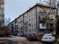 Василеостровский район, улица Вёсельная, дом 12. многоквартирный дом