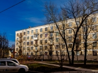 Василеостровский район, улица Остроумова, дом 10. многоквартирный дом