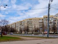 , st Nakhimov, house 3 к.1. Apartment house