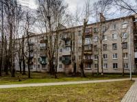 , st Nakhimov, house 4 к.3. Apartment house