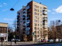 , st Nakhimov, house 10. Apartment house