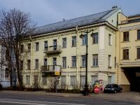Василеостровский район, улица Набережная Лейтенанта Шмидта, дом 23. многоквартирный дом