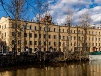 Василеостровский район, улица Набережная реки Смоленки, дом 5-7. офисное здание