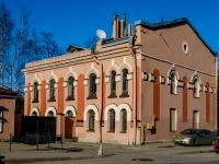 Василеостровский район, улица Набережная реки Смоленки, дом 29Б. многофункциональное здание