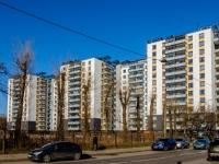 Василеостровский район, улица Набережная реки Смоленки, дом 35 к.1. многоквартирный дом