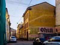 Василеостровский район, Днепровский переулок, дом 11. многоквартирный дом