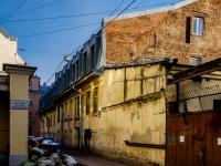 Василеостровский район, Днепровский переулок, дом 3. многоквартирный дом