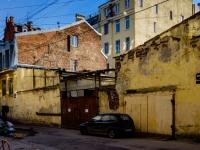 Василеостровский район, Днепровский переулок, дом 5. многоквартирный дом