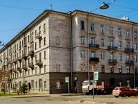 Василеостровский район, Среднегаванский проспект, дом 1. многоквартирный дом