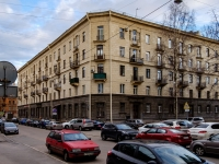 Василеостровский район, Среднегаванский проспект, дом 3. многоквартирный дом