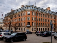 Василеостровский район, Среднегаванский проспект, дом 4. многоквартирный дом