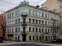 Василеостровский район, Среднегаванский проспект, дом 6. многоквартирный дом