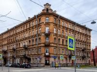 Василеостровский район, Среднегаванский проспект, дом 7. многоквартирный дом