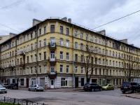 Василеостровский район, Среднегаванский проспект, дом 10. многоквартирный дом