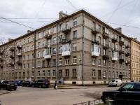 Василеостровский район, Среднегаванский проспект, дом 12. многоквартирный дом