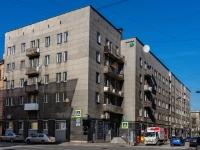 Василеостровский район, Среднегаванский проспект, дом 13. многоквартирный дом