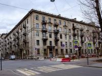 Василеостровский район, Среднегаванский проспект, дом 16. многоквартирный дом
