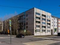 Василеостровский район, Среднегаванский проспект, дом 18. многоквартирный дом