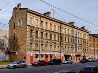 Василеостровский район, улица Косая линия, дом 13. многоквартирный дом