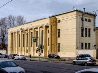 Василеостровский район, улица Косая линия, дом 13А. многофункциональное здание
