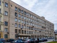 Василеостровский район, улица Косая линия, дом 18. многофункциональное здание