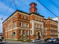 Василеостровский район, улица 23-я линия В.О., дом 2А. многофункциональное здание