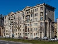 Василеостровский район, улица Наличная, дом 5. многоквартирный дом