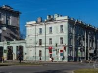 Василеостровский район, улица Наличная, дом 9. многоквартирный дом