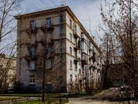 Василеостровский район, улица Наличная, дом 12. многоквартирный дом