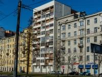 Василеостровский район, улица Наличная, дом 13. многоквартирный дом