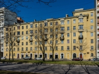 Василеостровский район, улица Наличная, дом 15 к.1. многоквартирный дом