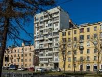 Василеостровский район, улица Наличная, дом 15 к.2. многоквартирный дом