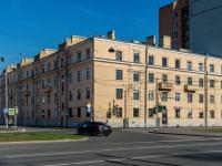 Василеостровский район, улица Наличная, дом 17. многоквартирный дом