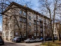 Василеостровский район, улица Наличная, дом 18. многоквартирный дом
