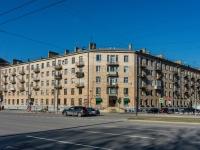 Василеостровский район, улица Наличная, дом 19. многоквартирный дом