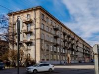 Василеостровский район, улица Наличная, дом 22. многоквартирный дом