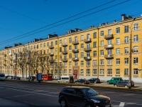 Василеостровский район, улица Наличная, дом 23. многоквартирный дом