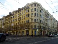 Выборгский район, Большой Сампсониевский проспект, дом 21. многоквартирный дом