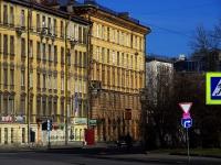 Выборгский район, Большой Сампсониевский проспект, дом 22. многоквартирный дом