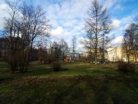 Выборгский район, Большой Сампсониевский проспект. сквер Выборгский сад