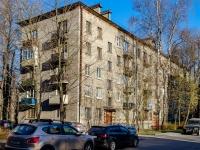 Выборгский район, Ярославский проспект, дом 38. многоквартирный дом