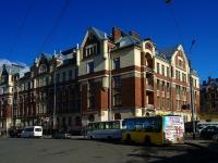 Калининский район, улица Боткинская, дом 1. многоквартирный дом