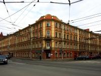 Калининский район, улица Комиссара Смирнова, дом 5. многоквартирный дом