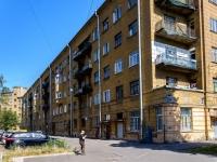 Кировский район, улица Швецова, дом 10. многоквартирный дом