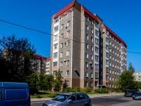 Кировский район, улица Метростроевцев, дом 5. многоквартирный дом